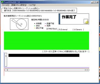 1.0TBの検査結果