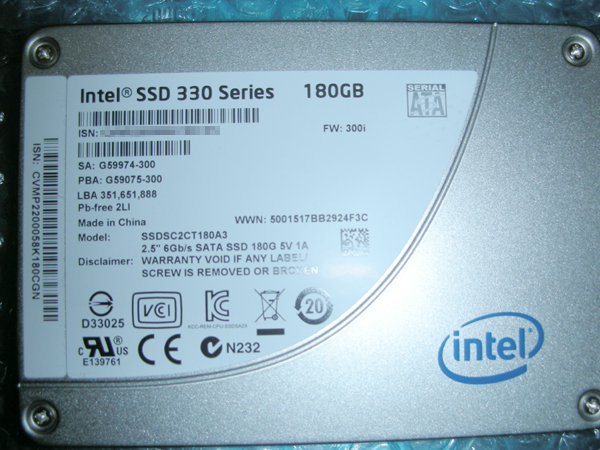 SSD 180GB